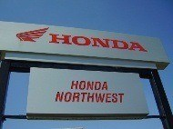 Honda Northwest Business Sign